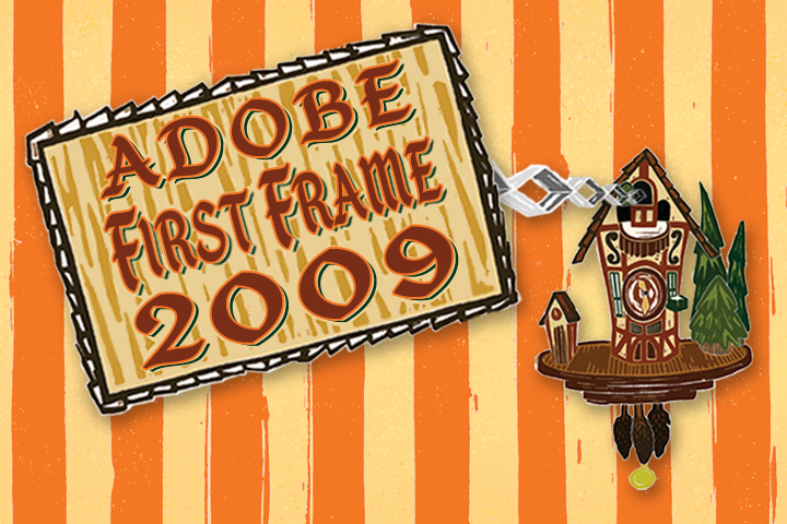 Adobe First Frame 2009 poster