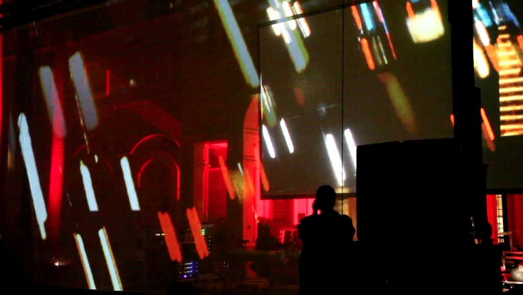 """D-Fuse performing """"Particle"""" live at USC"""