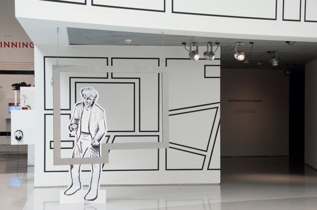 """A-Ha """"Take On Me"""" gallery installation. Photo Credit: Tony Walsh for the Contemporary Arts Center"""